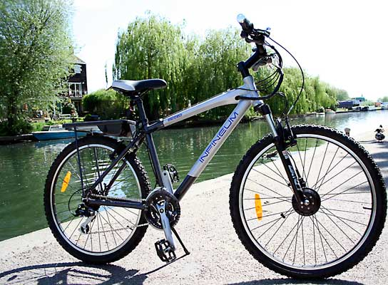 Extreme Electric Bike from Infineum
